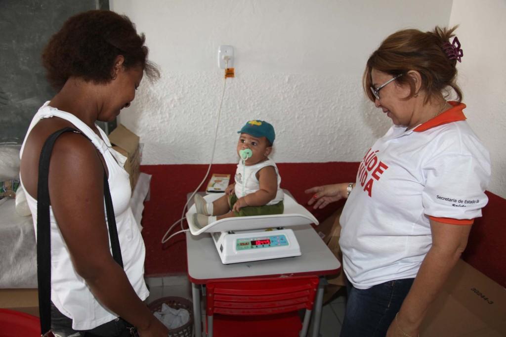Ações de saúde foram levadas no dia 28 a Peri-Mirim