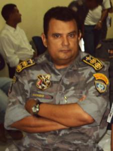Coronel Zanoni Porto, comandante da PM