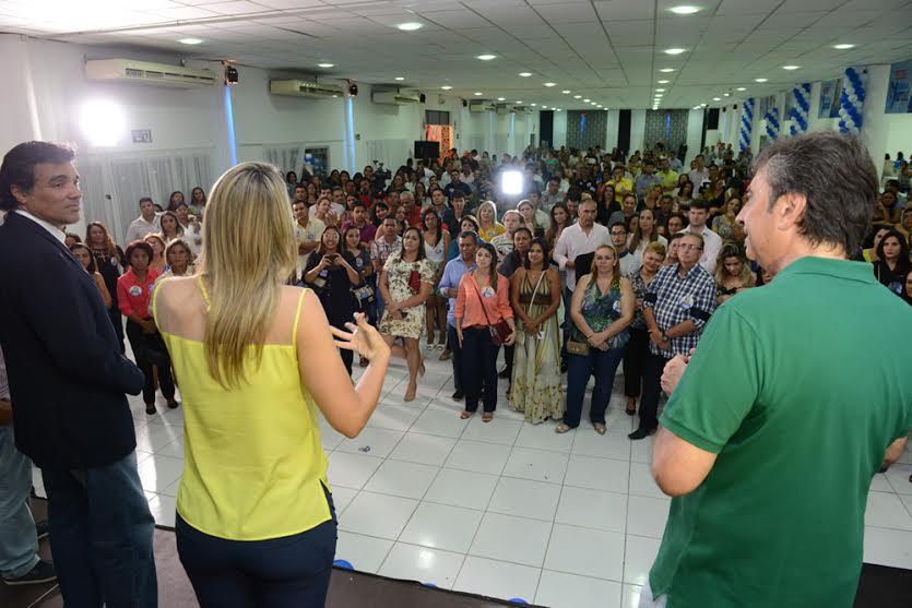 Andrea Murad e Lobão Filho Encontram Profissionais da Saúde