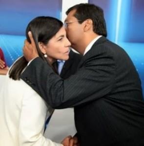Roseana e Flávio Dino