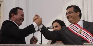 Carlos Brandão e Flávio Dino