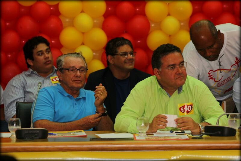 Roberto Rocha e Zé Reinaldo disputaram internamente a vaga de candidato a senador em 2014 e nessa disputa, Rocha levou a melhor