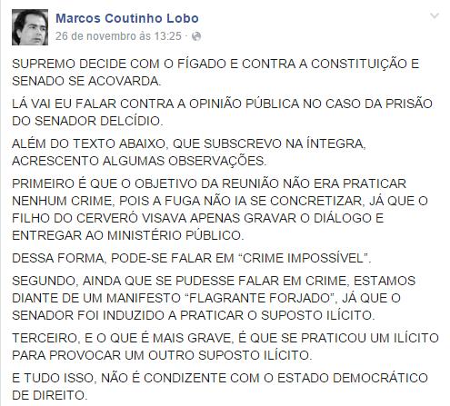 Marcos Lobo face