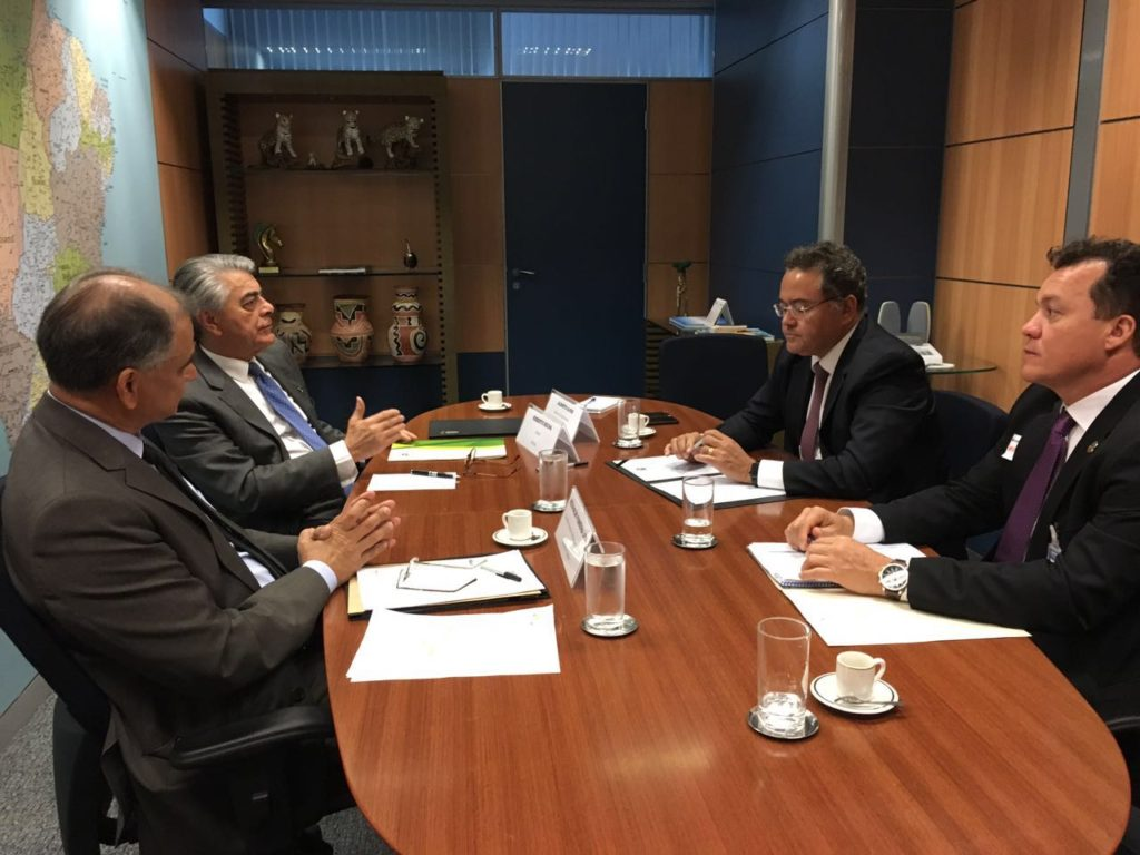 Reuniao com ministro do Turismo Alberto Alves