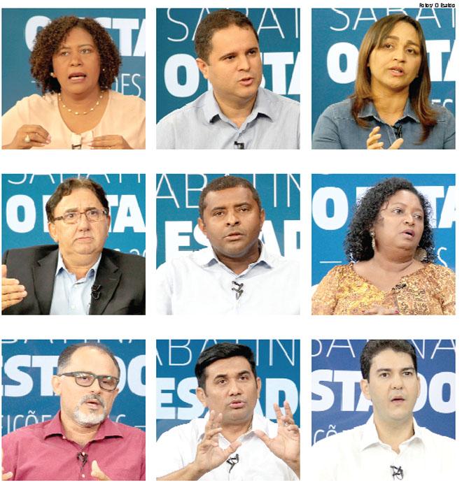 Candidatos Sabatina