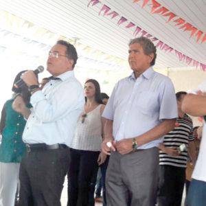 Ildon Marques recebe o apoio de Roberto Rocha na mesma cidade
