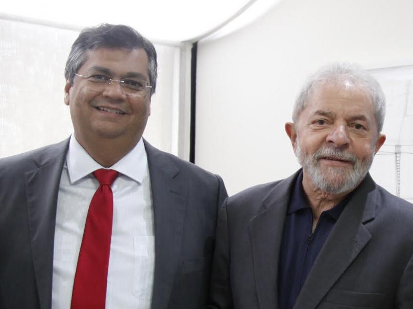Resultado de imagem para Lula e Flávio Dino