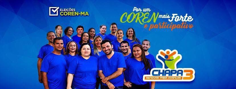 coren 1 - Chapa 3 segue como favorita rumo a eleição do COREN-MA - minuto barra