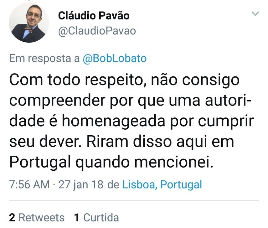 pavao - Homenagem por parte do MP  a Flávio Dino, gerou-se perplexidade até em Portugal - minuto barra