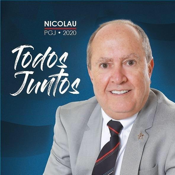 Eduardo Nicolau oficializa candidatura à PGJ - Gilberto Léda